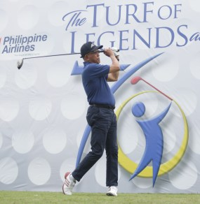 The 70th Regular Men's PAL Interclub golf tournament officially opened with the ceremonial tee off at Rancho Palos Verdes, led by Defense Sec.Delfin Lorenzana. A total of 82 teams are seeing action in the Men's Interclub to run March 1 to 4 at Rancho and Apo Golf clubs in Davao City.(PAL)