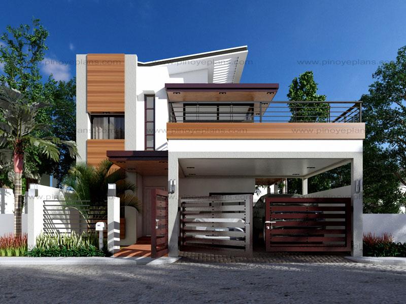 Modern House Design Series: MHD-2014012