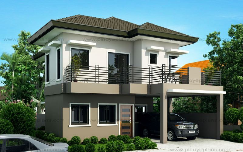 Sheryl - Four Bedroom Two Story House Design