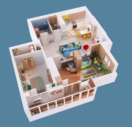 plan floor 3d story single pinoy eplans dollhouse gorgeous june