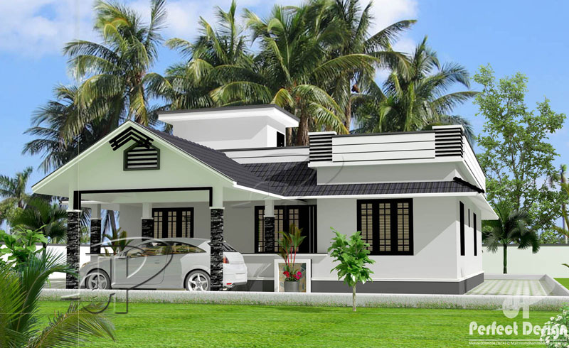 Beautiful One Storey Home Design