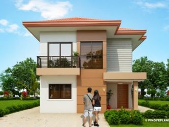 Two Story Simple Modern House Design 4