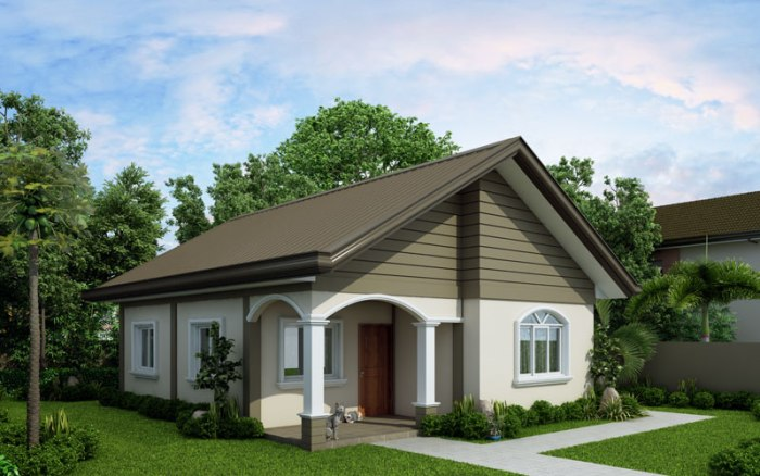 small house design-2015021-left-side-view