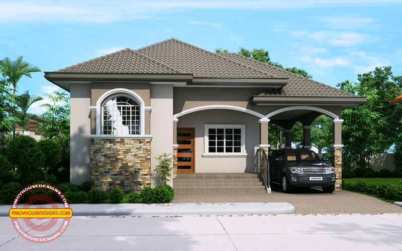 Phd 2015022 Elevated One Storey House Design Pinoy
