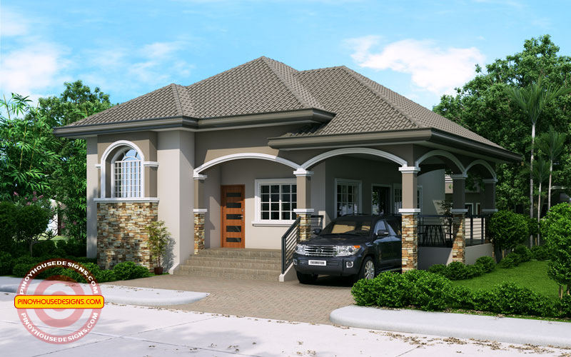 Elevated One Storey House Design PHD 2015022 Pinoy House Designs