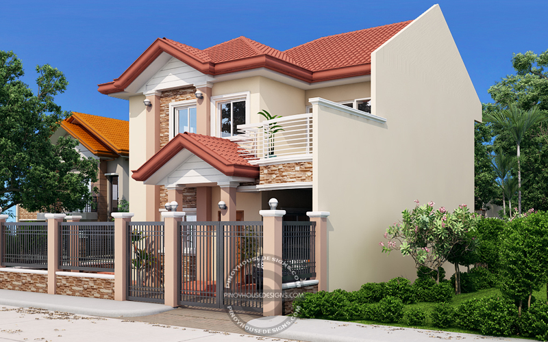 Andres Two Storey House With Firewall Pinoy House