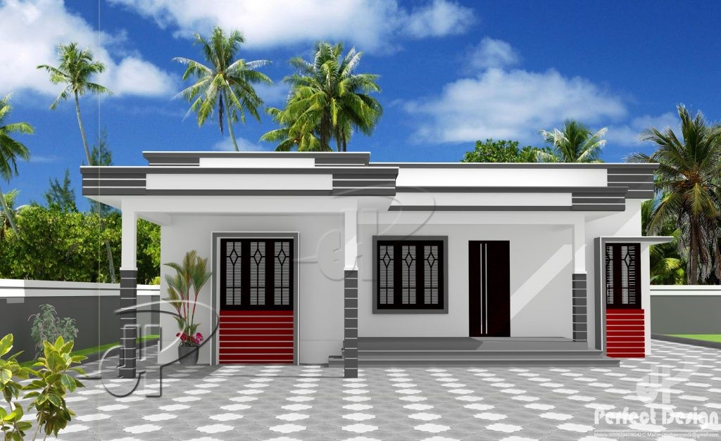 Single Story Two Bedroom Residential House Pinoy House