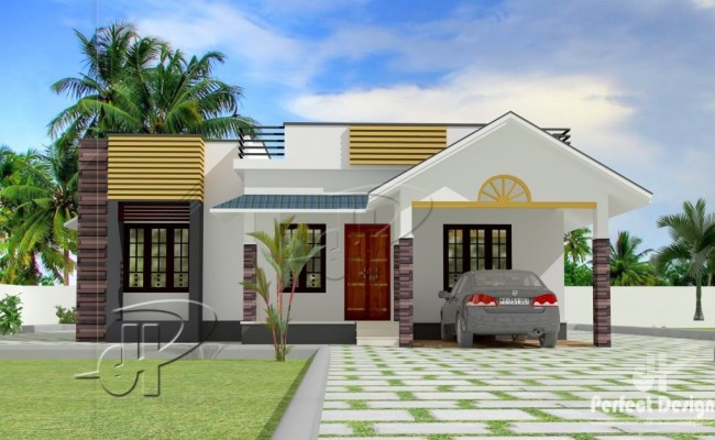 Modern Bungalow House Plan With Three Bedrooms Pinoy