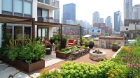 Gorgeous Landscape and Gardens in Rooftop Terraces
