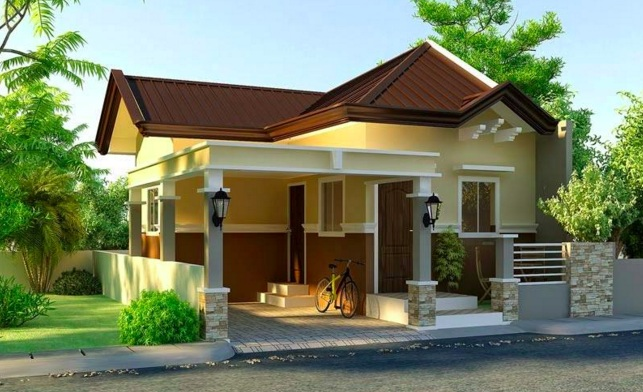 Small Modern House Plan With Interior Design Pinoy House