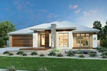 Stunning Single Story Contemporary House Plan - Pinoy