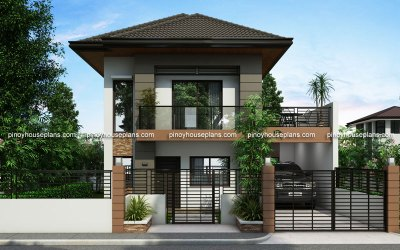 Two Story House Plans Series : PHP 2014012 Pinoy House Plans