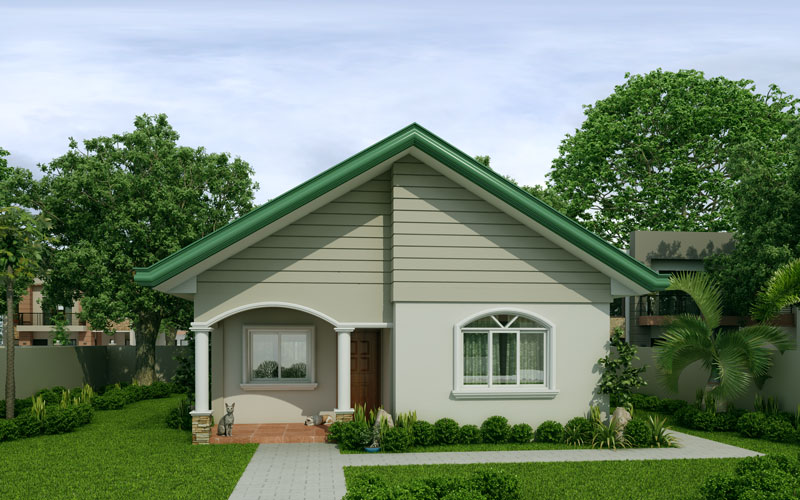 2 Bedroom Contemporary House Plan