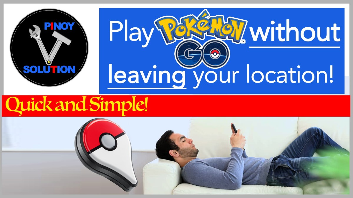 Play Pokemon Go without leaving your location