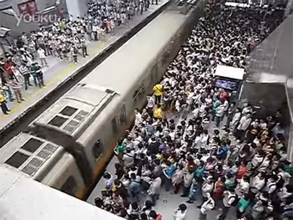 Trains are full