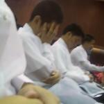 Two Graduates Sleeping