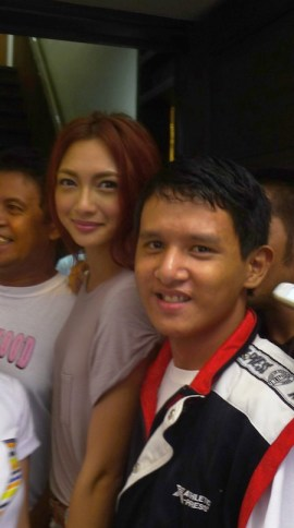 Kevin Paquet and Bioessence icon Iya Villania