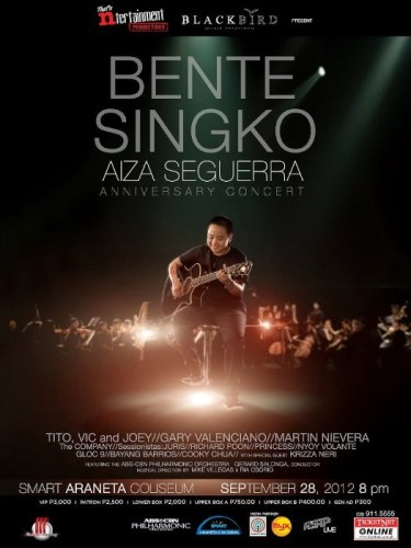 Aiza Seguerra Bente Singko Anniversary Concert