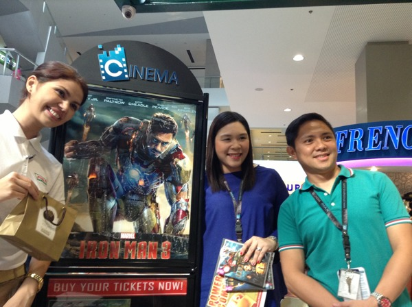 Nadia of Krispy Kreme, Sir Lloyd and Ma'am Marie of SM Lanang Cinema