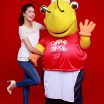 Erich and Choobi Choobi Mascot
