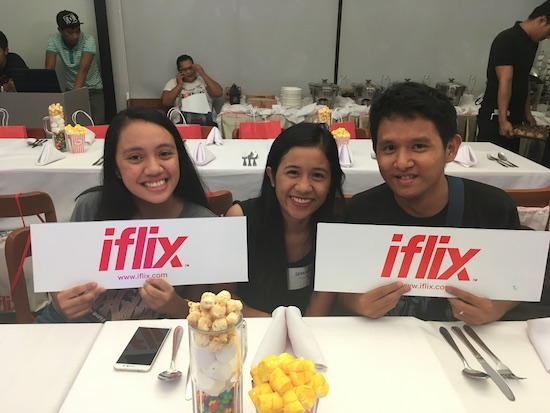 #iFlixGoesToDavao launches iFlix to Davao market
