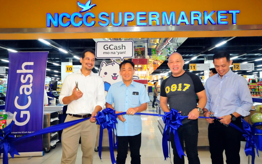 NCCC Mall Supermarket goes cashless with GCash