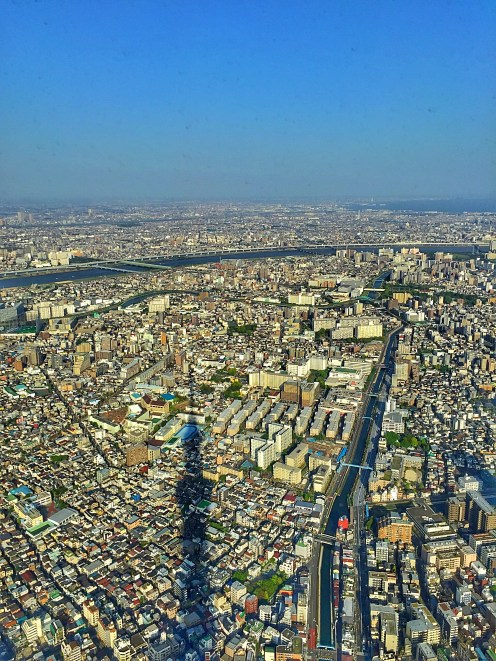 View from Observatory of Tokyo Skytree