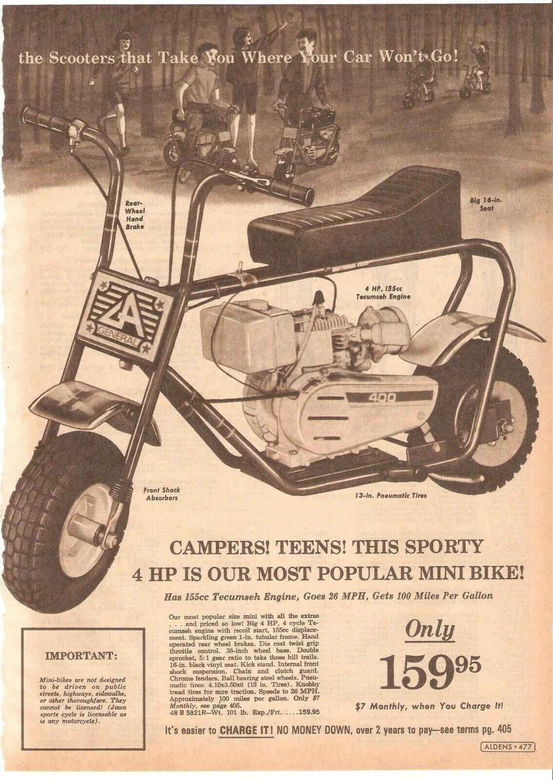 Ruttman Mini Bike : ruttman, Minibike, Advertising, Ruttman, Honda, Indian, Bonanza, Catalogs, Brochures