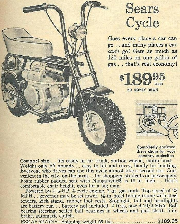 Jcpenney Mini Bike : jcpenney, Information, Guide, Minibike, Collector, Buying, Rupps