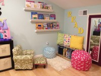 Kids Reading Area {DIY Playroom Decor}  pinsandpetals