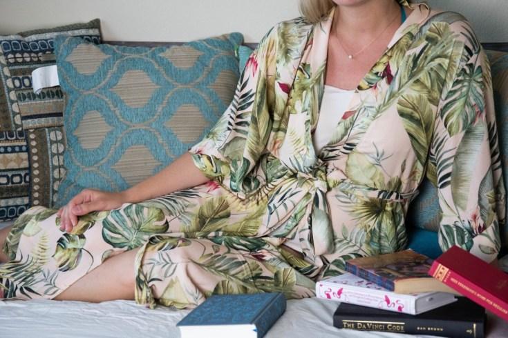 sewing the Suki Kimono