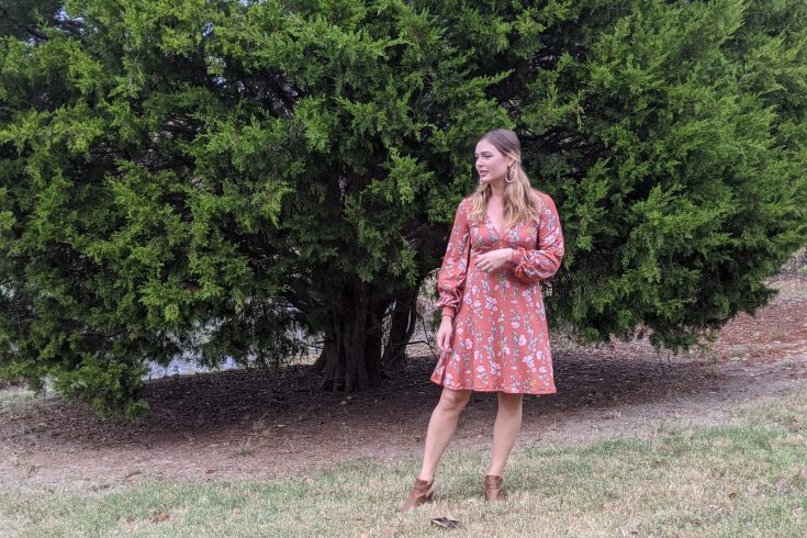 sewing the Sylvia Dress in Raspberry Creek Fabrics