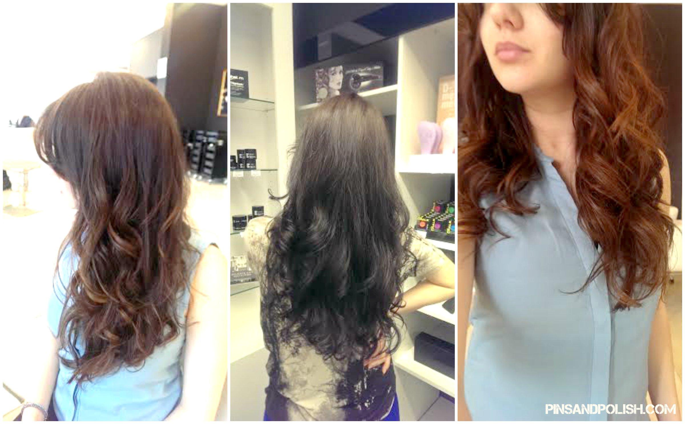 tips hair care pins and polish