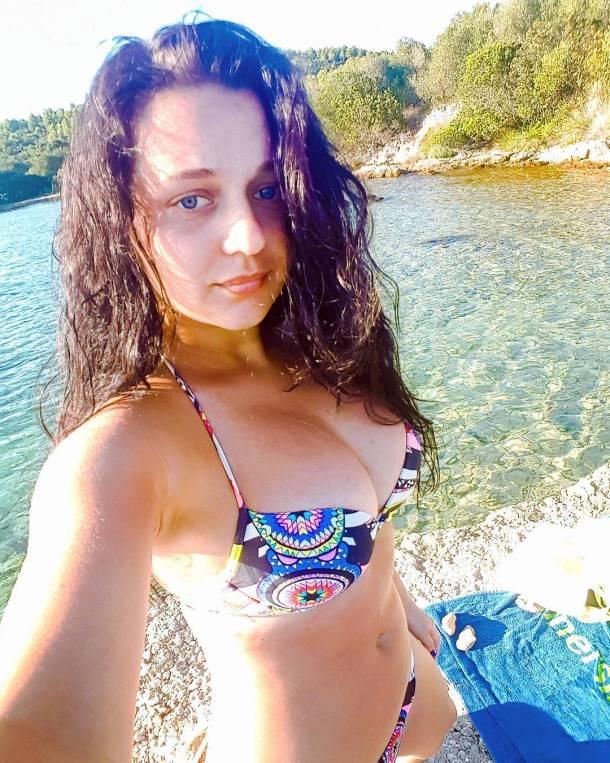 bikini summer longhairdontcare tisno beach croatia sun saltskin feelingrelaxed nomakeuphellip