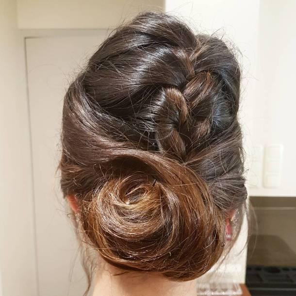 Every weekend one wedding to do monikab wedding updo hairstylehellip