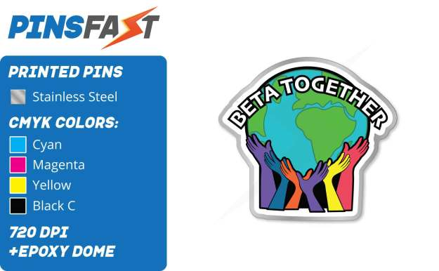 BETA Together Pins