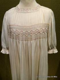 Smocked nightgown, Liberty