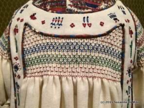 Folk inspired dress Liberty