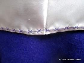 Burda 6834 lining stitching