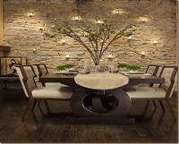Stone age  Home interior design  Stone walls ...
