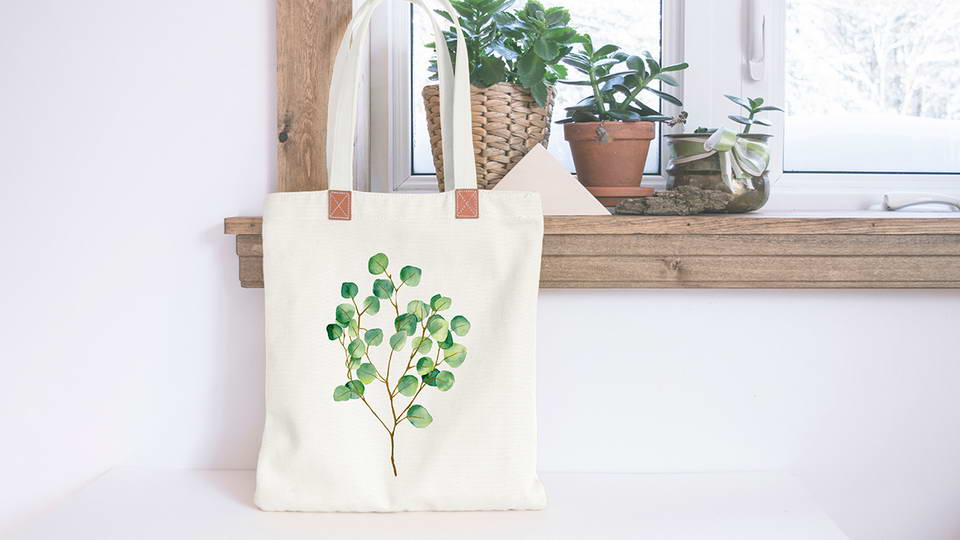 It is fully customizable where you can change the color of shoulder strap, base color of bag, tag artwork and customize the background as per your requirement. Tote Bag Free Mockup Pinspiry