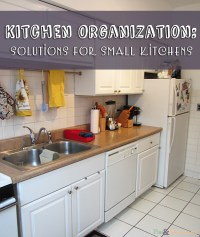 Kitchen organization: Solutions for Small Kitchens