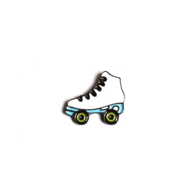 pin's roller blanc