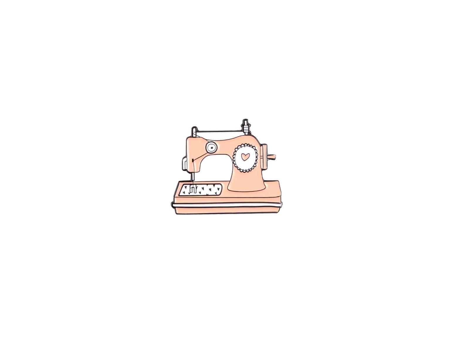 pin's machine à coudre
