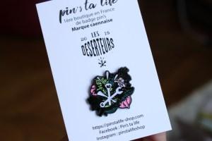 deserteurs logo pin's