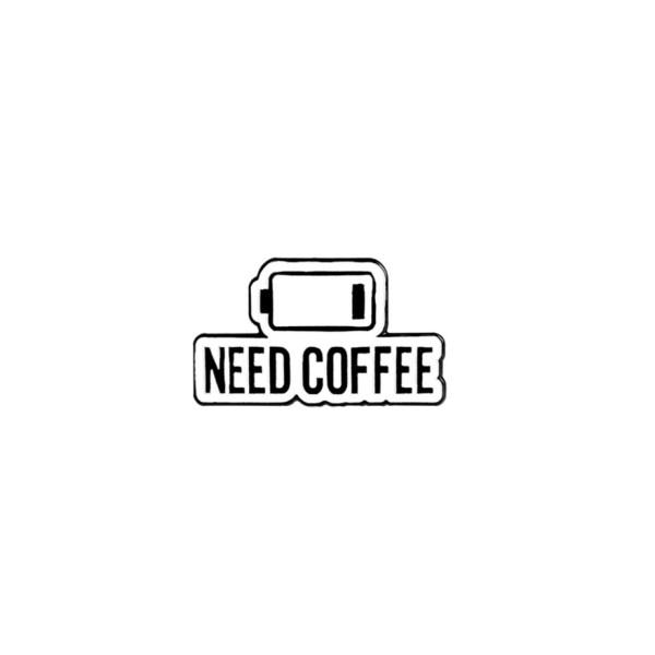 pin's need coffee