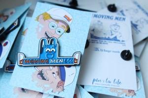 ed banger records pins
