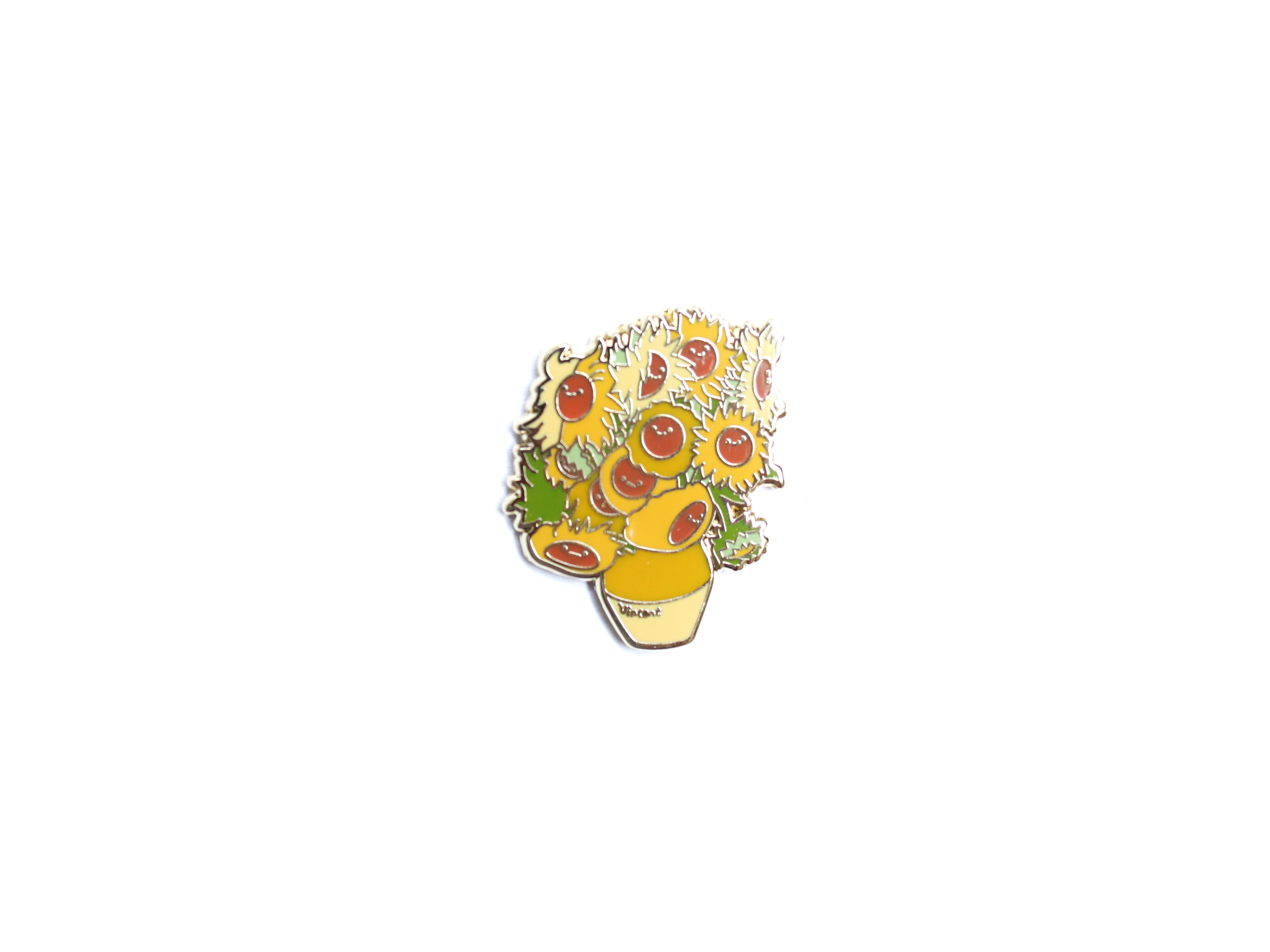 pin's tournesol van gogh