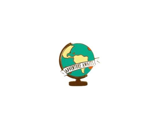 pin's globe