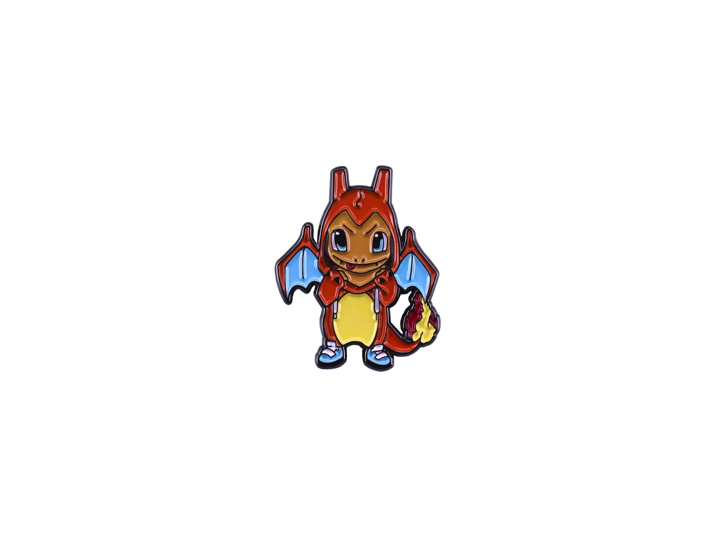 pin's pokémon salamèche